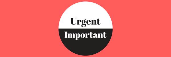 urgent or important