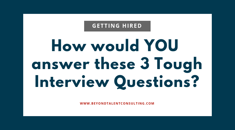 Musicians: how would you answer these 3 tough interview questions?