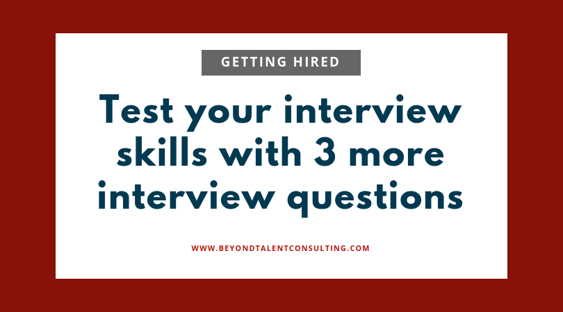 Musicians: test your skills with 3 more interview questions