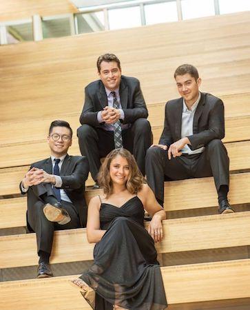 Dover Quartet collaborates with harpist Bridget Kibbey
