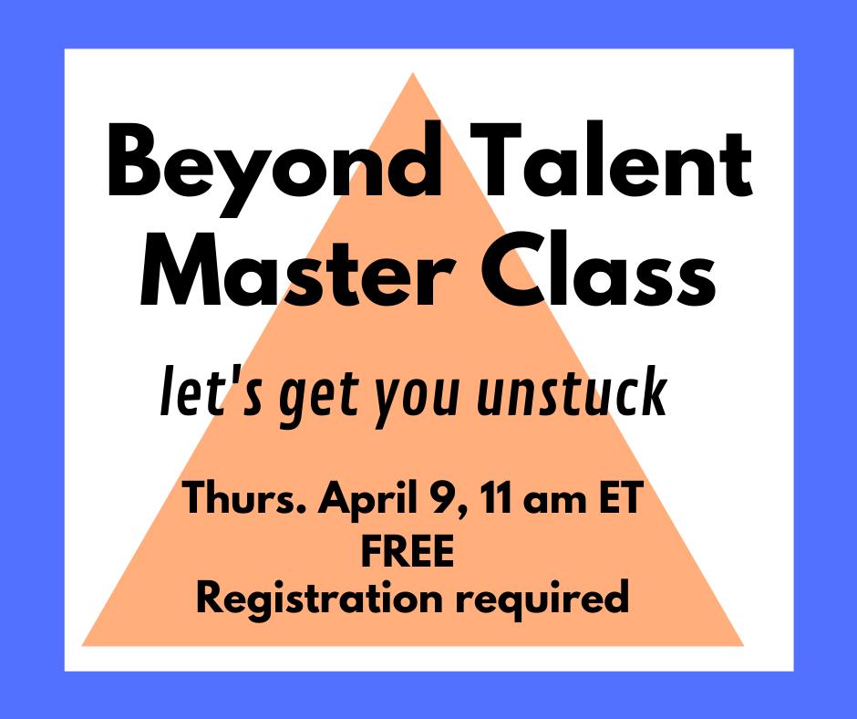 Musicians Beyond Talent Master Class