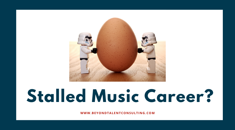 What the cure for a Stalled Music Career?