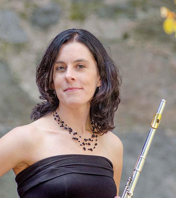Bonnie Cochran flutist, composer, music educator