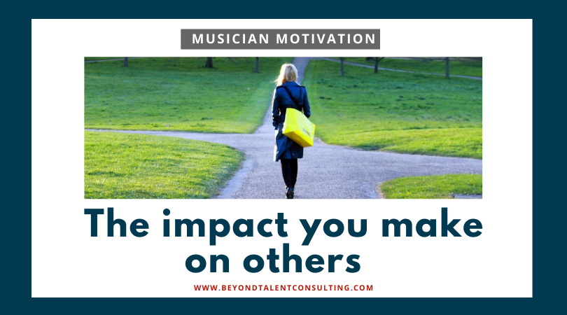 The impact you make on others
