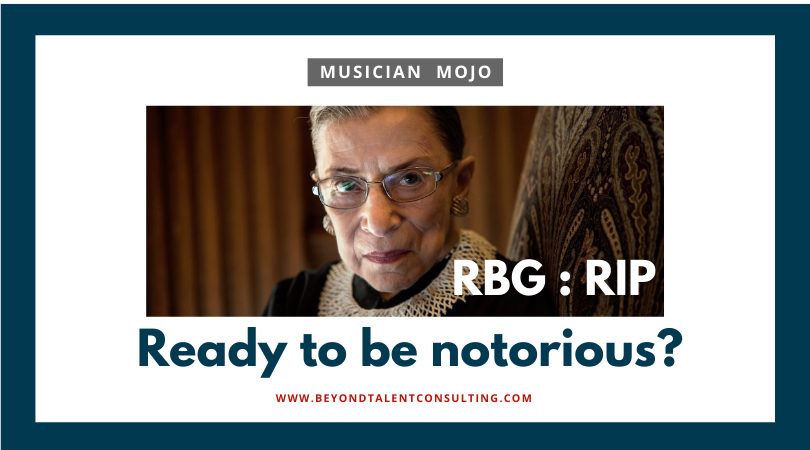 Musician: Ready to be notorious?