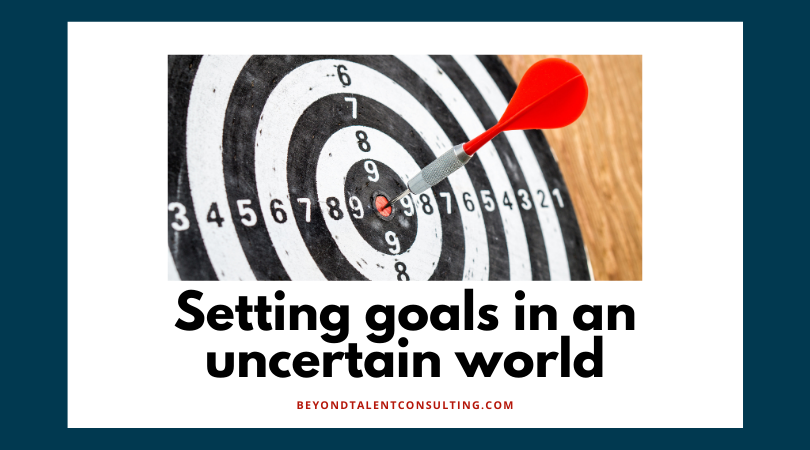 Setting goals in an uncertain world