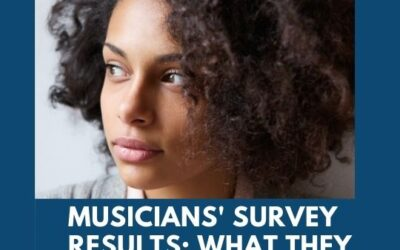 Musicians' survey results are in . . .