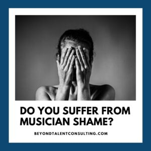 """Do you suffer from """"musician shame""""?"""