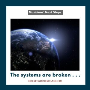 Musicians: the systems are broken